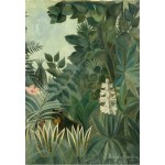 Puzzle  Grafika-Kids-01275 Henri Rousseau: The Equatorial Jungle, 1909