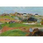 Puzzle  Grafika-Kids-01308 Paul Gauguin : Landscape at Le Pouldu, 1890