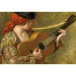 Puzzle  Grafika-Kids-01315 Auguste Renoir: Young Spanish Woman with a Guitar, 1898