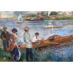 Puzzle  Grafika-Kids-01331 Auguste Renoir: Oarsmen at Chatou, 1879
