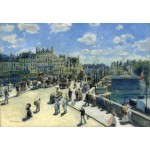 Puzzle  Grafika-Kids-01332 Auguste Renoir: Pont Neuf, Paris, 1872