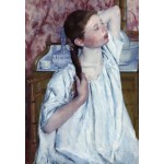 Puzzle  Grafika-Kids-01339 Mary Cassatt: Girl Arranging Her Hair, 1886