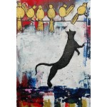 Puzzle  Grafika-Kids-01399 Katzenspiele