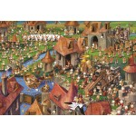 Puzzle  Grafika-Kids-01456 François Ruyer - Kaninchen