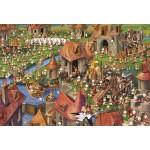 Puzzle  Grafika-Kids-01458 XXL Teile - François Ruyer - Kaninchen