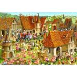 Puzzle  Grafika-Kids-01466 XXL Teile - François Ruyer - Bauernhof