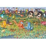 Puzzle  Grafika-Kids-01471 XXL Teile - François Ruyer - Dinosaurier
