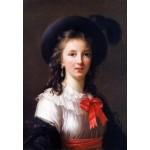Puzzle  Grafika-Kids-01479 Louise-Élisabeth Vigee le Brun: selfportrait, 1781