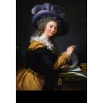 Puzzle  Grafika-Kids-01485 Louise-Élisabeth Vigee le Brun: Comtesse de Cérès, 1784