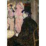 Puzzle   Henri de Toulouse-Lautrec: Maxime Dethomas, 1896