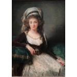 Puzzle   Louise-Élisabeth Vigee le Brun: Madame d'Aguesseau de Fresnes, 1789