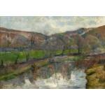 Puzzle   Paul Gauguin : Brittany Landscape, 1888