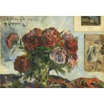 Puzzle   Paul Gauguin: Still Life with Peonies, 1884