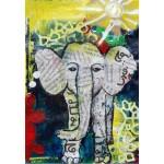 Puzzle   Thailändisches Elefantenbaby