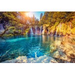 Puzzle   XXL Teile - Nationalpark Plitvicer Seen, Kroatien