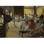 Puzzle   Edgar Degas: The Dance Class, 1873