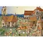 Puzzle   François Ruyer - Bauernhof