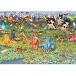 Puzzle   François Ruyer - Dinosaurier