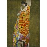 Puzzle  Grafika-00015 Gustav Klimt: Die Hoffnung II, 1907-1908