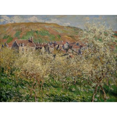 Puzzle Grafika-00041 Claude Monet: Pruniers en Fleur, 1879