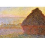 Puzzle  Grafika-00043 Claude Monet: Meules, Soleil Couchant, 1891