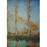 Puzzle  Grafika-00044 Claude Monet: Les Peupliers, 1891
