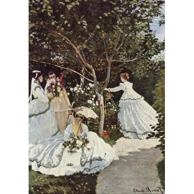 Puzzle Grafika-00056 Claude Monet: Femmes au Jardin, 1866