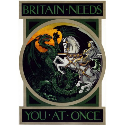 Puzzle Grafika-00076 Britain needs you at once