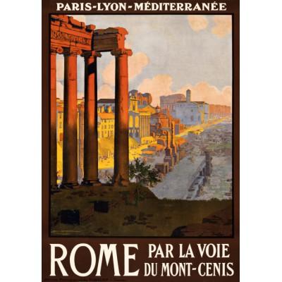 Puzzle Grafika-00090 Rome par la voie du Mont-Cenis, 1920