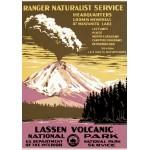 Puzzle  Grafika-00092 Lassen Volcanic National Parc, USA, 1938