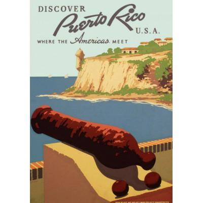 Puzzle Grafika-00093 Porto Rico, 1936-1940