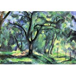 Puzzle  Grafika-00101 Paul Cézanne: Forêt, 1890