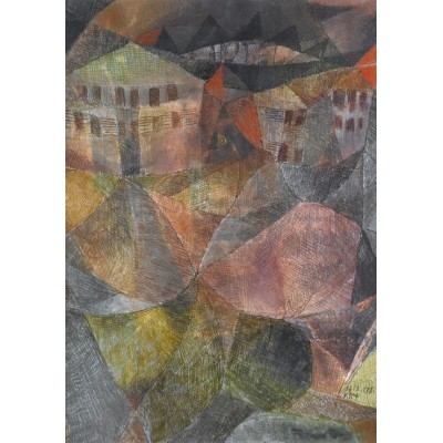 Puzzle Grafika-00105 Paul Klee: Das Hotel, 1913