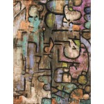 Puzzle  Grafika-00107 Paul Klee: nach der UeberSchwemmung, 1936