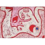 Puzzle  Grafika-00108 Paul Klee: ein Weib für Götter, 1938