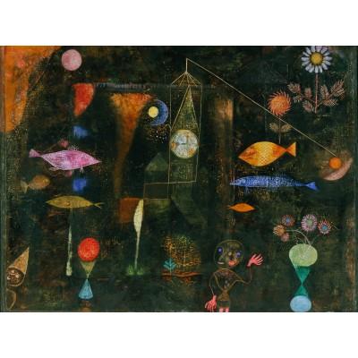 Puzzle Grafika-00112 Paul Klee: Fisch Magie, 1925
