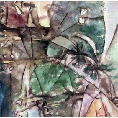 Puzzle Grafika-00114 Paul Klee: Klee Leitungsstangen anagoria, 1913