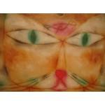 Puzzle  Grafika-00115 Paul Klee: Katze und Vogel, 1928