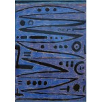 Puzzle  Grafika-00117 Paul Klee: Heroische Bogenstriche, 1938