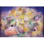 Puzzle  Grafika-00118 Paul Klee: Orientalischer Lustgarten, 1925