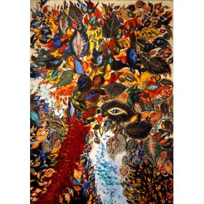 Puzzle Grafika-00125 Séraphine de Senlis: L'Arbre de Pararadis, 1928-1930