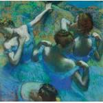 Puzzle  Grafika-00132 Edgar Degas: Danseuses Bleues, 1890