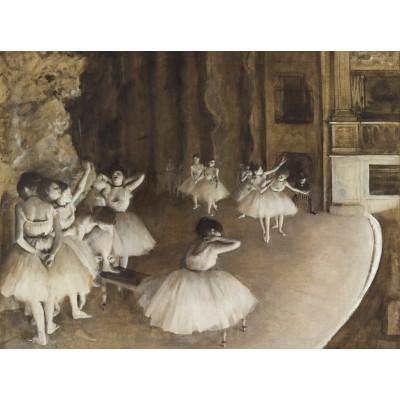 Puzzle Grafika-00134 Edgar Degas: Répétition d'un Ballet sur la Scène, 1874