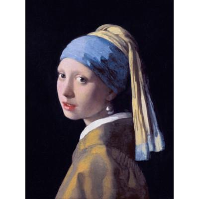 Puzzle Grafika-00144 Vermeer Johannes: Das Mädchen mit dem Perlenohrring, 1665