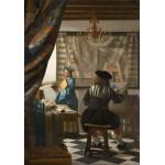 Puzzle  Grafika-00145 Vermeer Johannes, 1666
