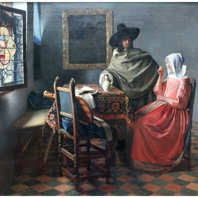 Puzzle Grafika-00148 Vermeer Johannes, 1659-1660