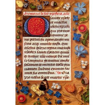 Puzzle Grafika-00149 Hastings Stundenbuch, ca. 1470