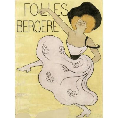 Puzzle Grafika-00152 Leonetto Cappiello: Les Folies Bergères, 1900