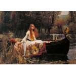 Puzzle  Grafika-00157 Waterhouse John William: The Lady of Shalott, 1888