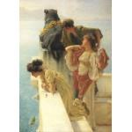 Puzzle  Grafika-00172 Sir Lawrence Alma-Tadema: Guter Aussichtspunkt, 1895